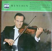 LP - Yehudi Menuhin & Philharmonia Orchestra (Furtwängler) - Beethoven: Violinkonzert D-Dur Op. 61 - Mono / Gatefold