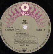 LP - Yes - 90125 - Club Edition