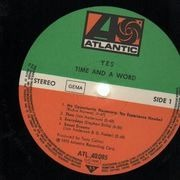 LP - Yes - Time And A Word