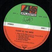 LP - Yes - Close To The Edge - Original 1st German, Gatefold, OIS