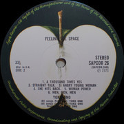 LP - Yoko Ono / The Plastic Ono Band & Something Different - Feeling The Space