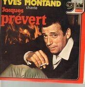 LP - Yves Montand - Yves Montand Chante Jacques Prévert