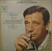 LP - Yves Montand - More Yves Montand - Twelve New Songs By France's Greatest Entertainer