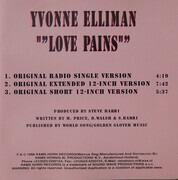 CD Single - Yvonne Elliman - Love Pains