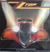 LP - ZZ Top - Eliminator