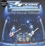 Double LP - ZZ Top - Live From Texas - 180g blue vinyl