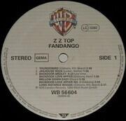LP - ZZ Top - Fandango!