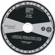 CD - ZZ Top - La Futura - Gatefold Cardboard Sleeve