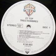 LP - ZZ Top - Tres Hombres