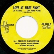 101 Strings with Be Be Bardon - Love At First Sight (Je T'aime...Moi Non Plus)