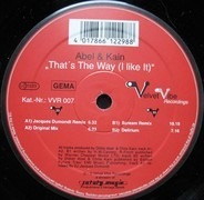 Abel & Kain - That's The Way (I Like It)