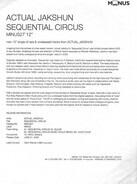 Actual Jakshun - Sequential Circus EP