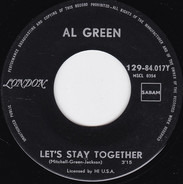 Al Green - Let's Stay Together / Tomorrow's Dream