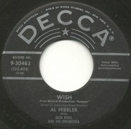 Al Hibbler With Jack Pleis And His Orchestra / Al Hibbler With The Ray Charles Singers - Wish / The Crying Wind (And I)