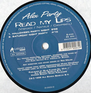 Alex Party - Read My Lips