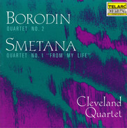 Borodin / Smetana - Quartet No. 2 / Quartet No. 1 'From My Life'