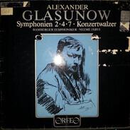 Alexander Glazunov , Neeme Järvi , Bamberger Symphoniker - Symphonien 2•4•7 • Konzertwalzer