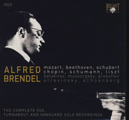 Alfred Brendel - The Complete Vox, Turnabout And Vanguard Solo Recordings