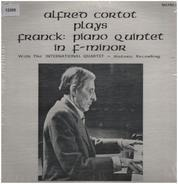 Alfred Cortot plays Franck - Piano Quintett in f-minor