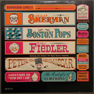 Allan Sherman , Arthur Fiedler Conducting The Boston Pops Orchestra - Peter and the Commissar
