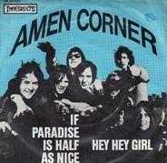 Amen Corner - If Paradise Is Half As Nice / Hey Hey Girl