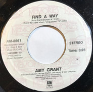 Amy Grant - Find A Way / Everywhere I Go