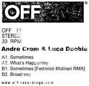 Andre Crom & Luca Doobie - Sometimes EP