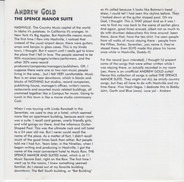 Andrew Gold - The Spence Manor Suite