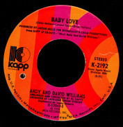 Andy & David Williams - Baby Love / I Don't Know Why (I Just Do)