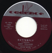 Andy Williams - Butterfly / It Doesn't Take Very Long