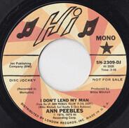 Ann Peebles - I Don't Lend My Man