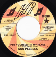 Ann Peebles - Put Yourself In My Place