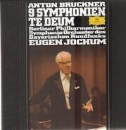 Anton Bruckner - 9 Symphonien, Te Deum, Jochum, Berliner Philharmoniker, Symph-Orch des  Bayerische Rundfunks