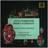 Anton Rubinstein , Nikolai Rimsky-Korsakov - Quintets For Piano and Winds