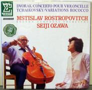 Dvorak / Tchaikovsky (Rostropovich, Ozawa) - Cello Concerto / Rococo Variations