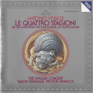 Antonio Vivaldi , English Concert , Simon Standage , Trevor Pinnock - Le Quattro Stagioni