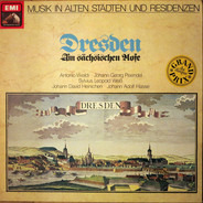 Antonio Vivaldi , Johann Georg Pisendel , Sylvius Leopold Weiss Sylvius Leopold Weiß Johann David H - Dresden - Am sächsischen Hofe