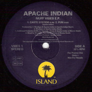 Apache Indian - Nuff Vibes E.P.