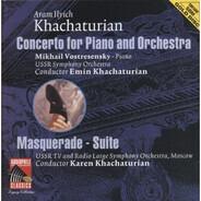 Khatchaturian - Piano Concerto / Masquerade-Suite