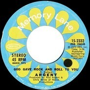 Argent - God Gave Rock And Roll To You
