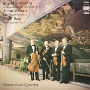 Schoenberg, Webern, Berg / Gewandhaus-Quartett Leipzig - Streichquartett Nr. 2 Fis-moll Op. 10 / Sechs Bagatellen Op. 9 / Streichquartett Op. 3