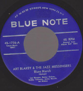 Art Blakey & The Jazz Messengers - Blues March / Along Came Betty