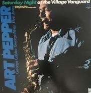 ART PEPPER - Saturday Night at the Village Vanguard