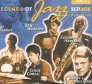 Art Blakey, Ben Webster, Coleman Hawkins, Chick Corea - Legends of Jazz Vol.2