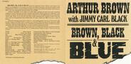 Arthur Brown With Jimmy Carl Black - Brown, Black & Blue
