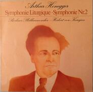 Arthur Honegger - Berliner Philharmoniker • Herbert von Karajan - Symphonie Liturgique • Symphonie Nr.2