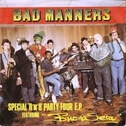 Bad Manners - Special 'R 'n' B' Party Four E.P.