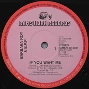 Barbara Roy & Ecstasy, Passion & Pain - If You Want Me