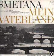 Bedřich Smetana, The Czech Philharmonic Orchestra, Karel Ančerl - Mein Vaterland - Symphonische Dichtung