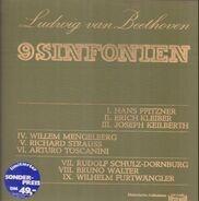 Beethoven - 9 Sinfonien,, 9 historische Dirigenten